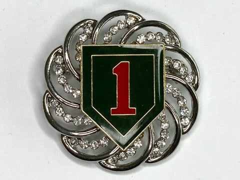 1st Infantry Division Limited Edition Brooch BR177