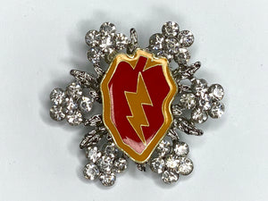 25th Infantry Limited Edition Brooch BR170