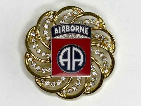 82nd Airborne Limited Edition Brooch BR178