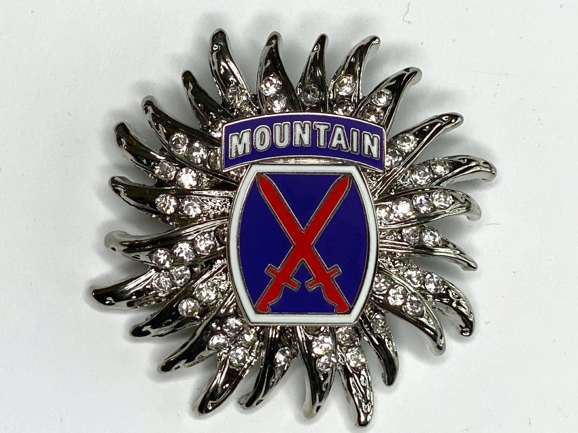 10th Mountain Division Limited Edition Brooch BR180