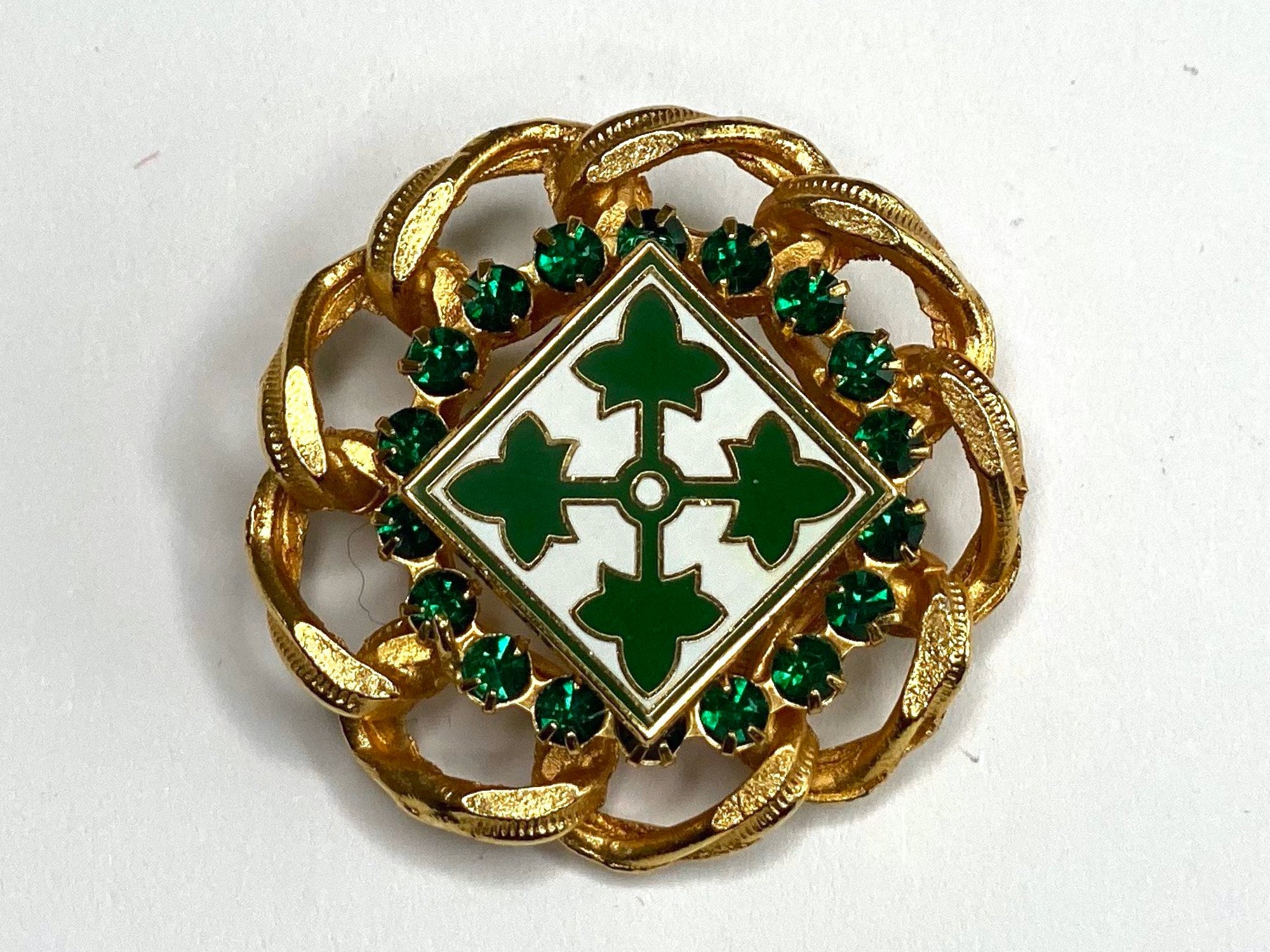 4th Infantry Division Limited Edition Brooch BR184