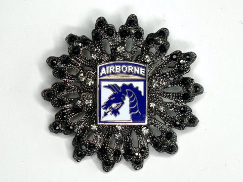 XVIII Airborne Corps Limited Edition Brooch BR187