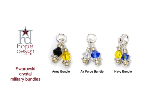 Swarovski Crystal Military Services Bundles