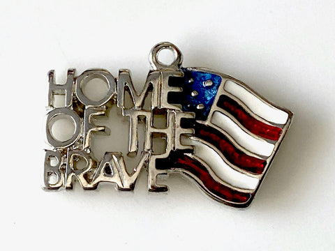 Home of the Brave Charm