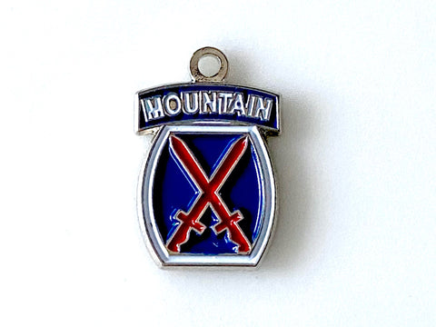 10th Mountain Division - Army Unit Charm