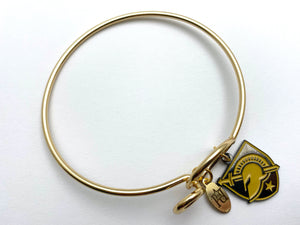 Army West Point Memory Wire Bracelet | USMA Athletic Logo