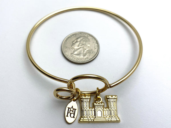 Engineer Memory Wire Bracelet | ENG Sapper