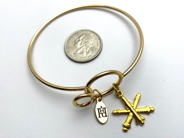 Air Defense Artillery Memory Wire Bracelet | ADA
