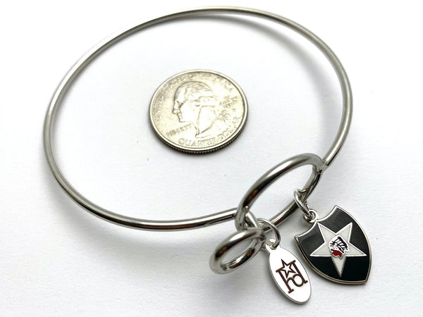 2nd Infantry Division Memory Wire Bracelet | 2ID
