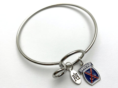10th Mountain Division Memory Wire Bracelet | 10MD