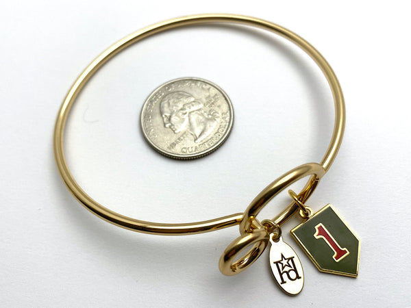 1st Infantry Division Memory Wire Bracelet | 1ID Big Red One