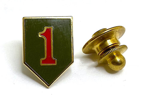 1st Infantry Division Lapel Pin