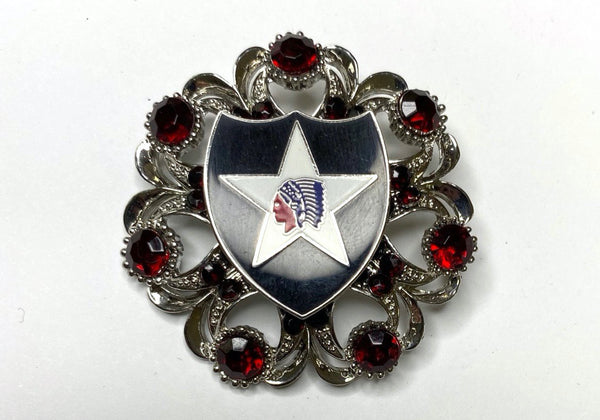 2nd Infantry Division (2ID) Limited Edition Brooch BR368