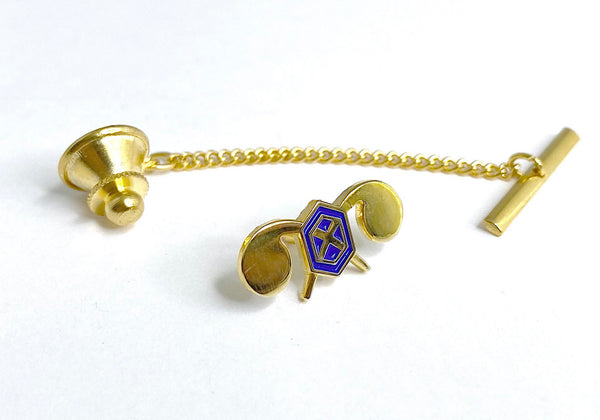 Chemical Corps Tie Tack