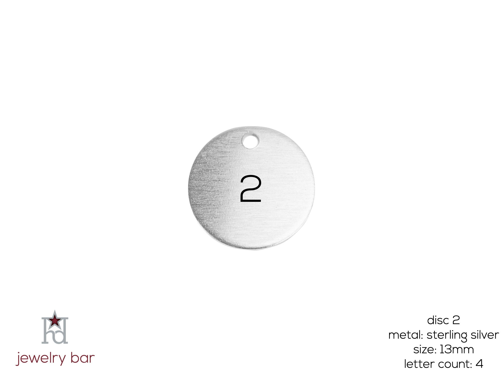 Round 13mm - Metal Disc 2
