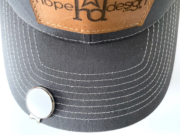 Logistics Golf Hat Clip and Ball Marker