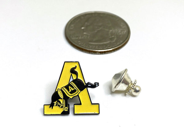 USMA Yellow Army A Lapel Pin