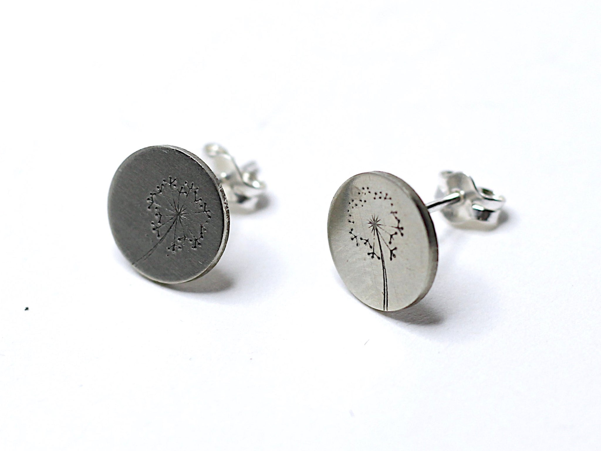 Dandelion Post Stud Earrings