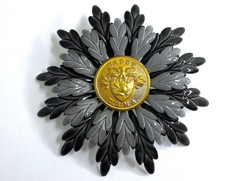 USMA (West Point) Uniform Button Vintage Brooch BR400