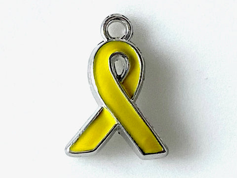 Yellow Ribbon Charm