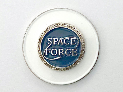 Space Force Golf Hat Clip and Ball Marker