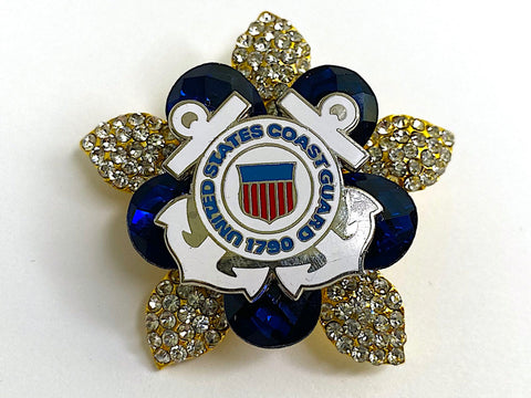 United States Coast Guard Brooch BR320