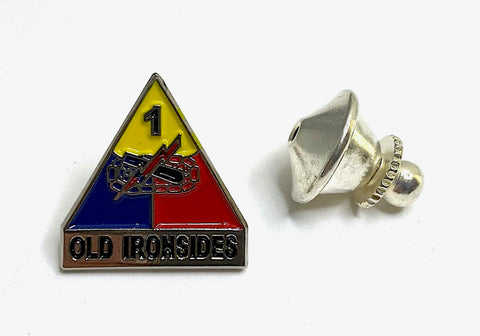 1st Armored Division Lapel Pin