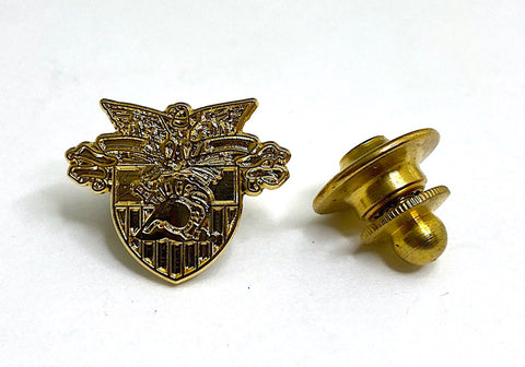 USMA Gold Crest Small Lapel Pin