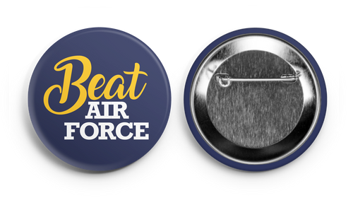 Beat Air Force! Navy Supporter Button