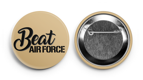 Beat Air Force! Army Supporter Button