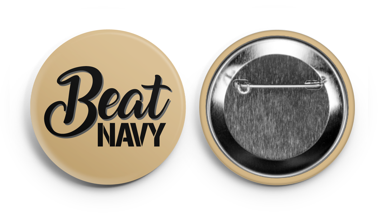 Beat Navy! Army Supporter Button