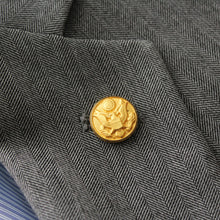 Load image into Gallery viewer, Army Button Lapel Pin