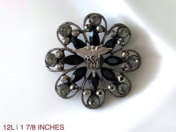 Medical Service Corps Brooch