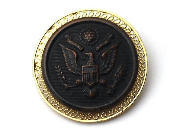 WWI US Army Button Limited Edition Brooch BR86
