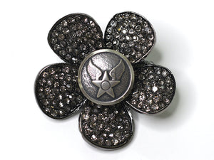 Air Force Button One of a Kind Brooch BR98