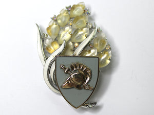 USMA Class Brass One of a Kind Brooch BR117