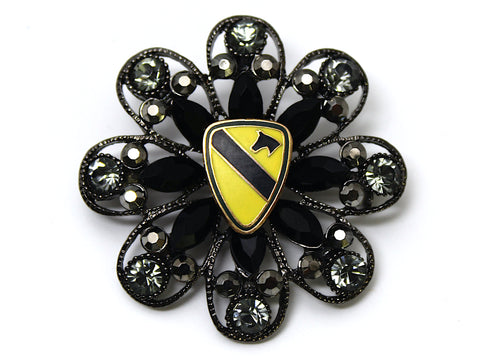 1st Cavalry Division Limited Edition Brooch BR129