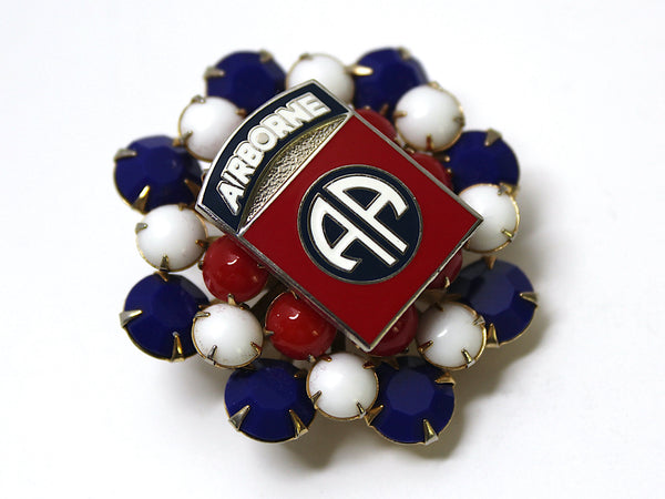 82nd Airborne Division One of a Kind Brooch BR134