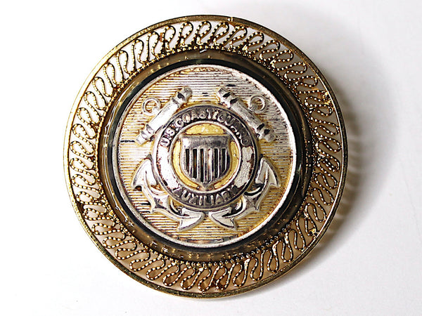US Coast Guard Auxiliary One of a Kind Brooch BR145