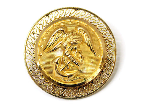 Marines Button Limited Edition Brooch BR149