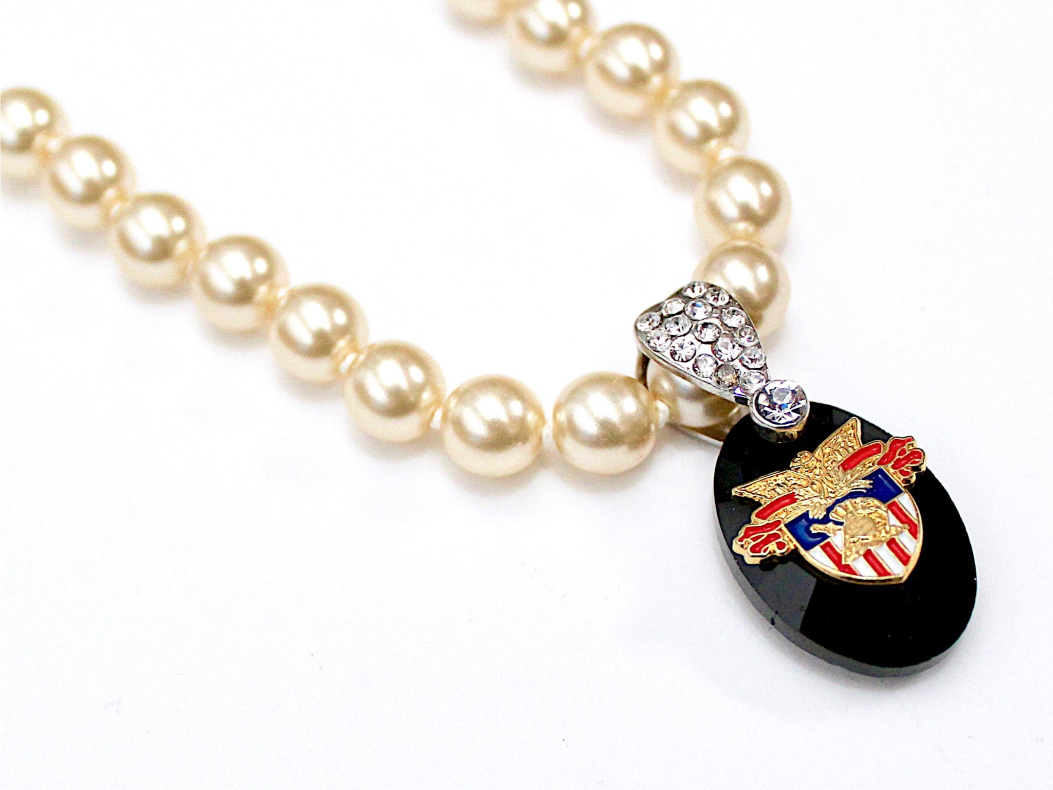 Limited Edition USMA Pearl Necklace