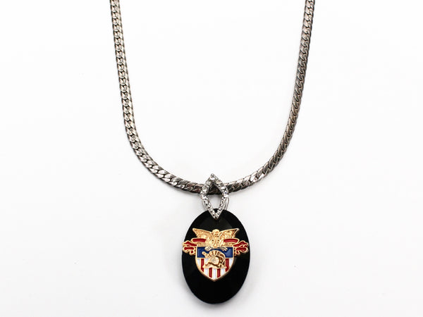 Limited Edition USMA Sterling Necklace