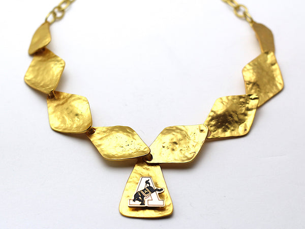 Limited Edition USMA Kicking Mule & Army 'A' Necklace