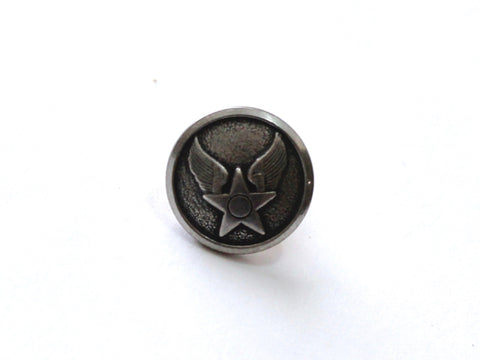 Air Force Button Lapel Pin