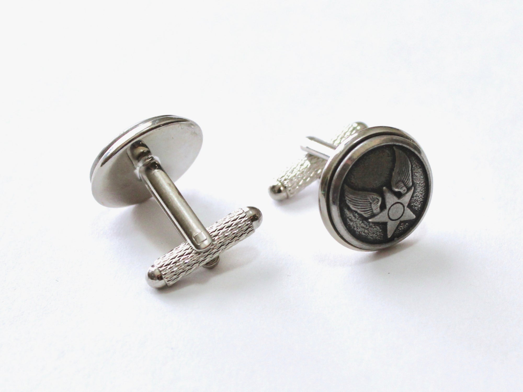 Air Force Button Cufflinks