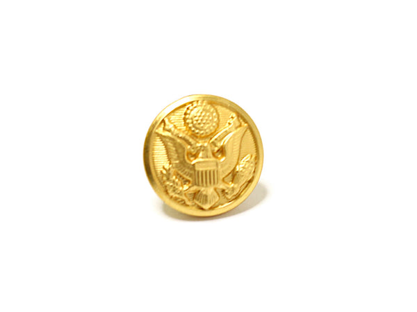 Army Button Lapel Pin