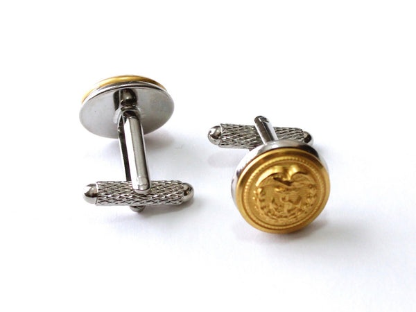 Coast Guard Button Cufflinks