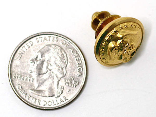Marine Corps Button Lapel Pin