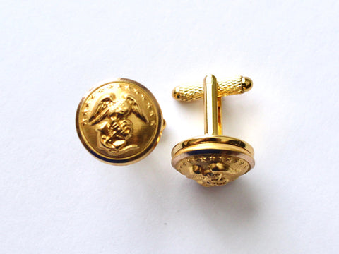 Marine Button Cufflinks