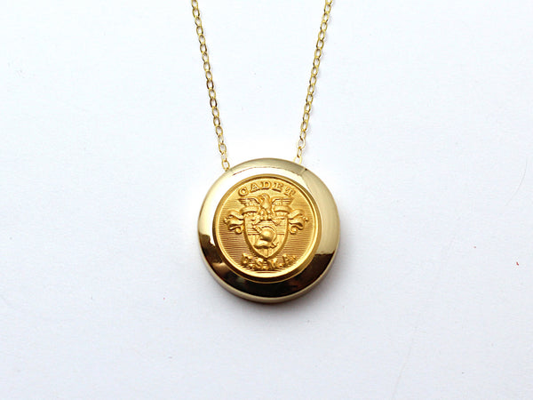 USMA Necklace Channel Gold Setting